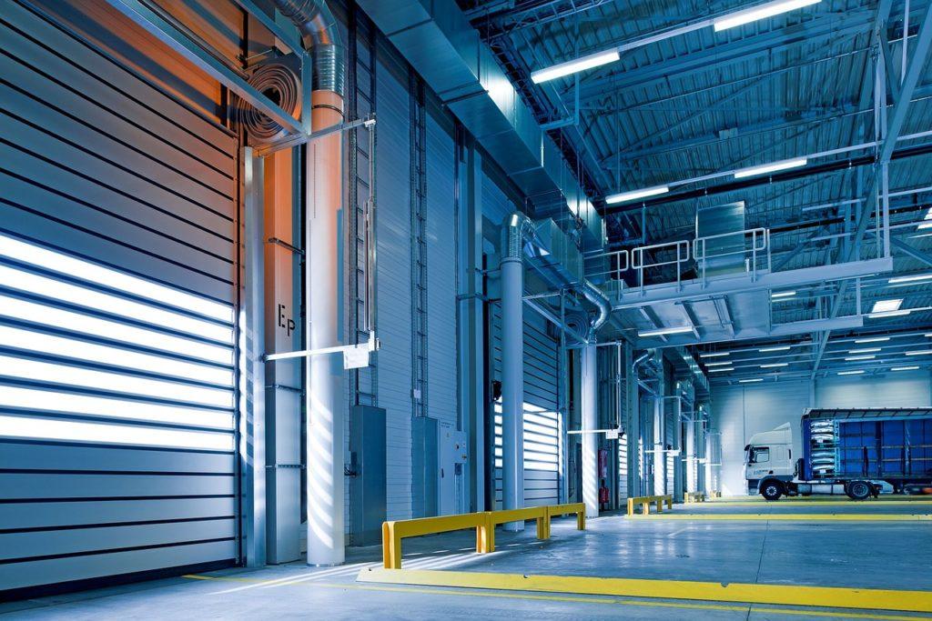 Bild einer Industriehalle